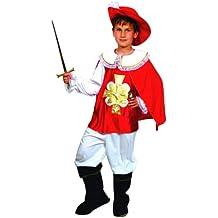 Atosa  - Disfraz de mosquetero niños talla 1