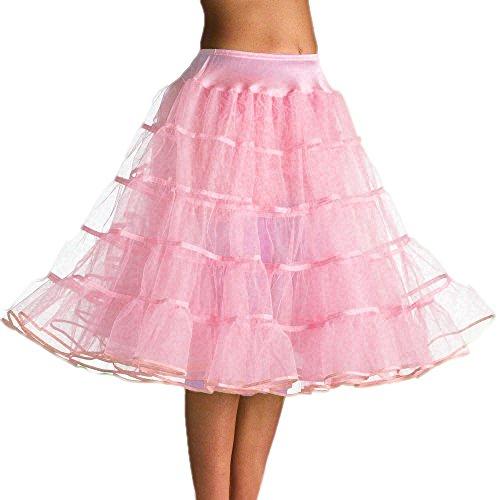 Bridal mall femme vintage 50s tee-longueur avec jupon pour abendkleider jupon tutu Rose
