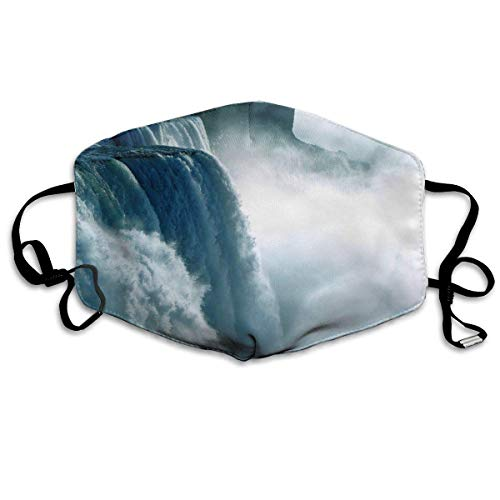 Niagara Waterfall Canada Anti Pollution Respirator Dust Mask Cotton Reusable Face Mouth Mask Fashion for Men Women