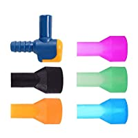 Kylebooker ON-OFF Switch Bite Valve Tube Mouthpieces Replacements Compatible With Most Brands Nozzle Replacement For Water Bladder Hydration Kit Accesory
