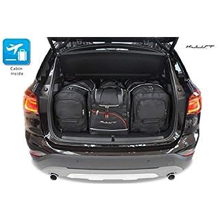 Auto-Taschen-MASSTASCHEN-ROLLENTASCHEN-BMW-X1-II-2015-CAR-Bags-KJUST