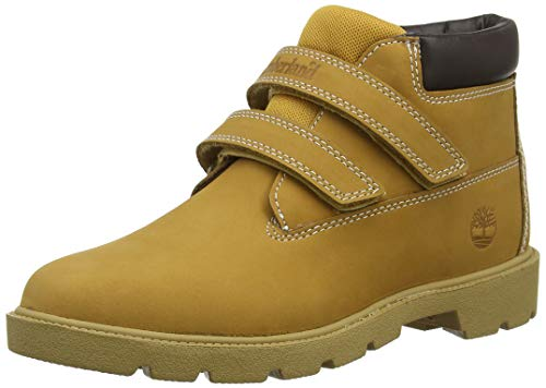 nder Double Strap Hook & Loop Waterproof Chukka Boots, Gelb (Wheat Nubuck), 39 EU ()