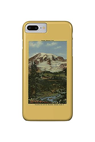 Paradise Inn, Rainier National Park (iPhone 7 Plus Cell Phone Case, Slim Barely There) -