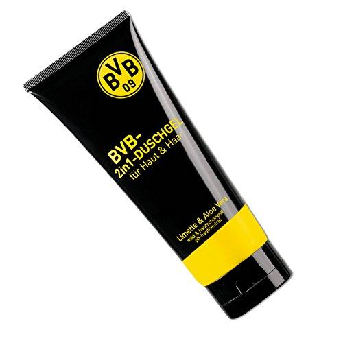 Borussia Dortmund Luxus Duschgel / Showergel 2 in 1 BVB 09 - plus gratis Aufkleber forever Dortmund