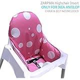 ZARPMA IKEA Antilop Cojín para trona de bebé, de nueva versión, más grueso,
