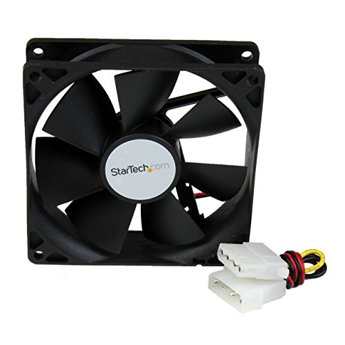 Startech Dual Ball Bearing Pc Case Cooling Fan With Internal Power Connector - 9.2 X 2.5cm lowest price