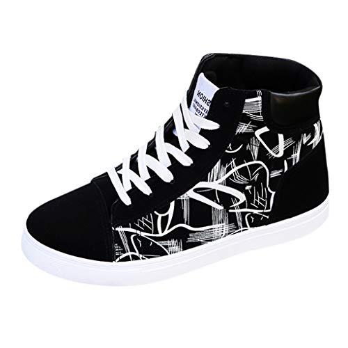 POLPqeD Sneaker Scarpe Uomo Jogging Sportive Casual da Outdoor Traspiranti comode Sneakers Casual Alte