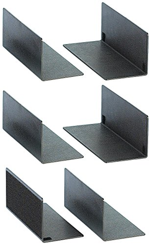 Lescars Kofferraum-Fixierung: 2er-Set Auto-Kofferraum-Teiler für Pkw, Van, Kombi u.v.m. (Kofferraum Ladungssicherung)