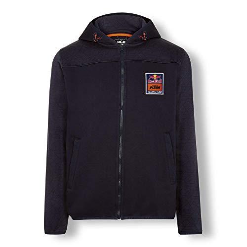 Red Bull KTM Mosaic Felpa con Cappuccio, Blu Uomo Small Hoodie, KTM Factory Racing Abbigliamento & Merchandising Uff