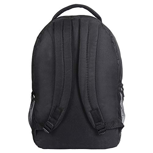 Drazo 20 Liters Black Expandable School Backpack with Laptop Compartment.