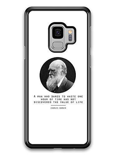 Micro Gorilla Value of Life Charles Darwin Quote Origin of Species Evolution Atheist Hülle für Samsung Galaxy S9