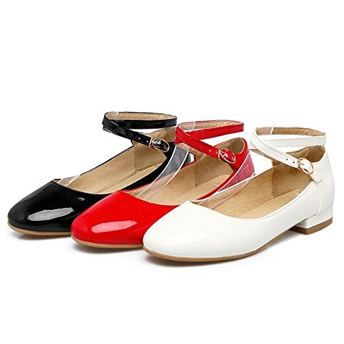 Zanpa Girls Basse Dress Scarpe 4#White