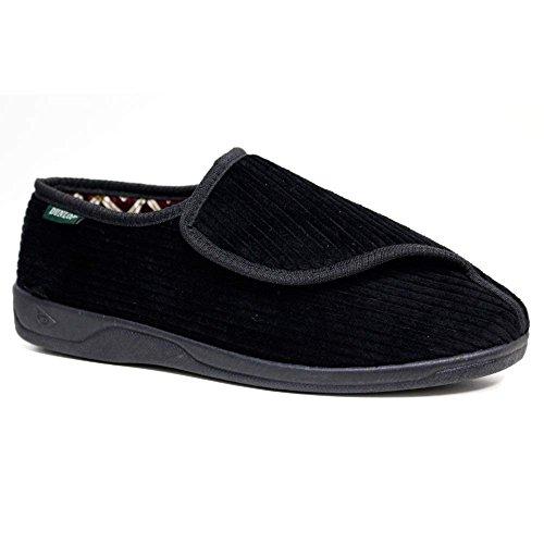 Men's Dunlop Diabetic Orthopedic Touch Fastening Adjustable Comfort Slippers Sizes 6-12 (10...