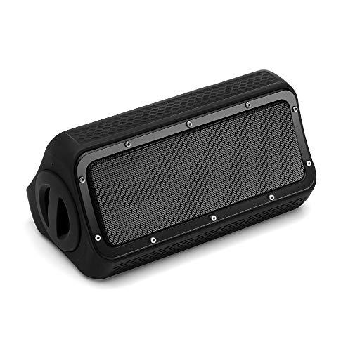 ERKEJI Altavoz Bluetooth IP55 Impermeable Subwoofer de Alta Potencia 20W 4400mAh AUX/USB...