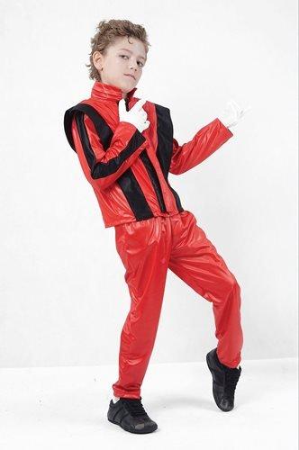 Michael Jackson Thriller 80s Kinder-Kostüm 146cms L