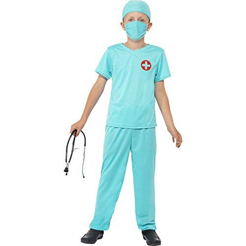 rg Kostüm, Oberteil, Hose, Mütze, Maske und Stethoskop, Größe: L, 41090 (Lustige Ideen Für Halloween-partys)