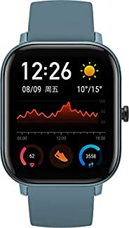 "Amazfit GTS Smartwatch, 1.65"" AMOLED Display, Slim Metal Body, Smart Notifications, Activity Tracking, 14-Day"