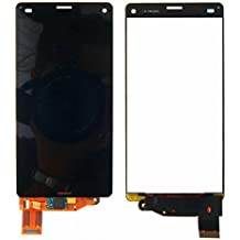 Sony Xperia Z3 Mini Compact D5803 D5833 LCD Pantalla Táctil Digitalizador Vidrio Completa Reemplazo y Herramientas (Negro)