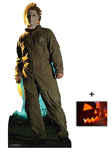 Michael Myers Halloween Classic Pose Lebensgrosse Pappaufsteller mit 25cm x 20cm - Hollywood-promi-halloween-party