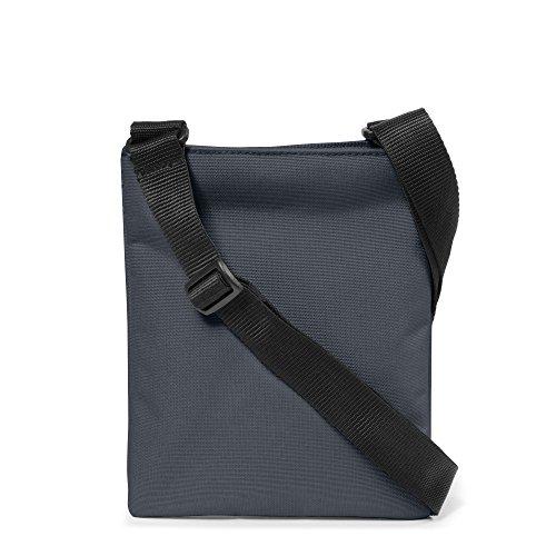 Eastpak Rusher Borsa a Tracolla, 1.5 L, Nero (Black) Blu (Midnight)