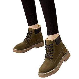 TianWlio Stiefel Frauen Herbst Winter Schuhe Stiefeletten Boots Winter Mode Stiefeletten Und Samthohe Keilabsatzschuhe Mit Flachem Absatz