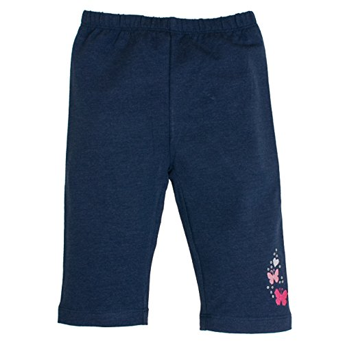 chen Leggings Capri Wonderful Uni, Blau (Ink Blue Melange 481), 128 (Funkelnde Leggings)