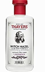 2 Pack - Thayers Alcohol-Free Witch Hazel with Organic Aloe Vera Formula Toner, Lavender 12 oz