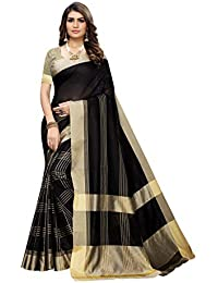 ANNI DESIGNER Silk Saree with Blouse Piece