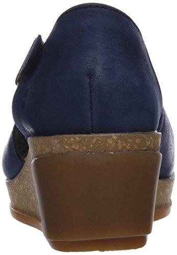 El Naturalista N5003, Sandales Bout Ouvert Femme Bleu (Ocean)