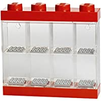 Lego RCL MDC8 RD Minifigure Display Case