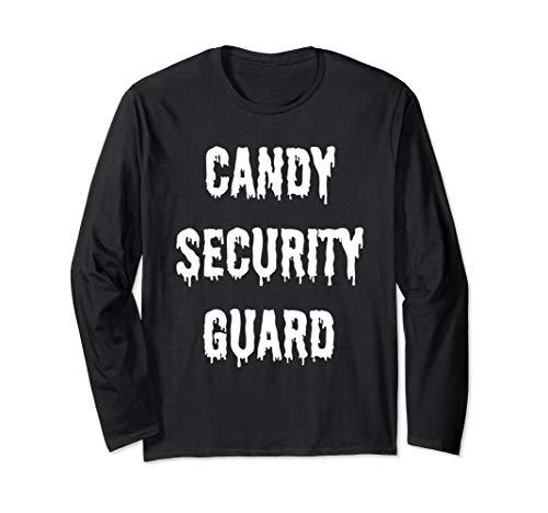 Lustige Halloween-Kostüme für Eltern, Candy Security Guard - Lustige Security Guard Kostüm