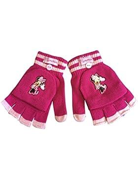 Disney–Minnie invernale termico guanti a manopola Fingerles in ciliegia e rosa