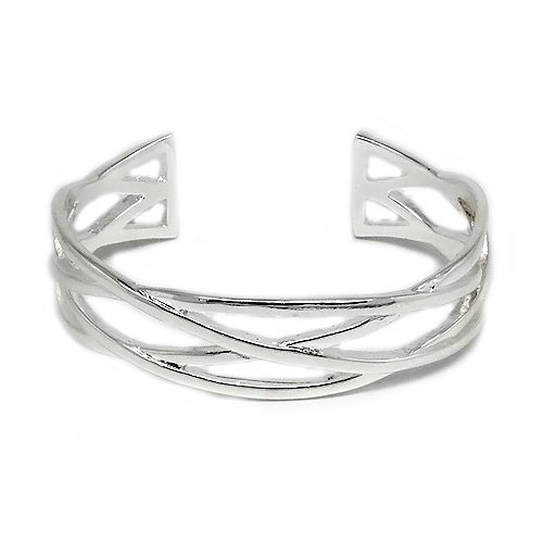 Classy and Fashion Silver Celtic Knot Bangle