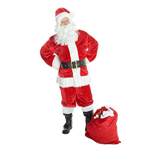 hnachtsmann Kostüm Weihnachten Nordpol Herren Kleidung - Groß ()
