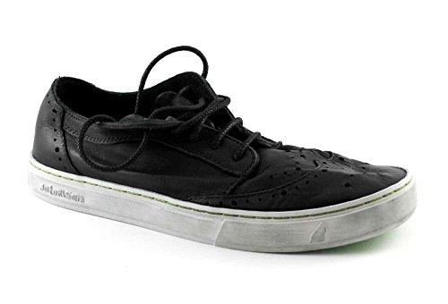 SATORISAN 161.023 Yukai Les chaussures noires homme noir anglais lacets en cuir derby Nero