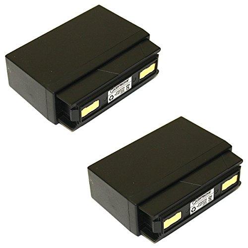 2 x Radio-batterie niMH de rechange pour bosch fUG10A fUG13 8697322951 8697322227 accu