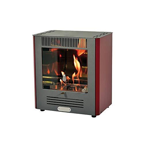 DIVINA Fire estufa de Bioetanol 2300W quemador ajustable Calefacción Alpha