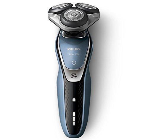 Philips Series 5000Afeitadora eléctrica con cuchillas Multiprecisión, función Turbo + /Accesorio recortador de barba