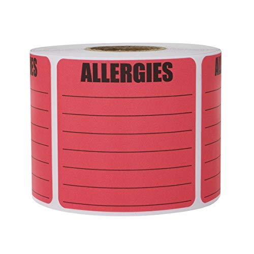 lergien Pink Aufkleber Etiketten 2 Rolls 2 x 2 pink. ()
