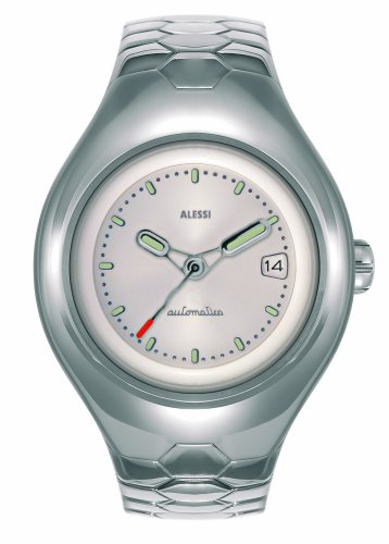 Alessi - AL 11000 - Montre Homme - Quartz - Analogique - Bracelet Acier Inoxydable Argent