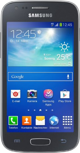 Samsung Galaxy Ace 3 Smartphone (10,2 cm (4 Zoll) Touchscreen, Dual-Core, 1,2GHz, 1GB RAM, 5 Megapixel Kamera, Android 4.2) schwarz Ace Handy