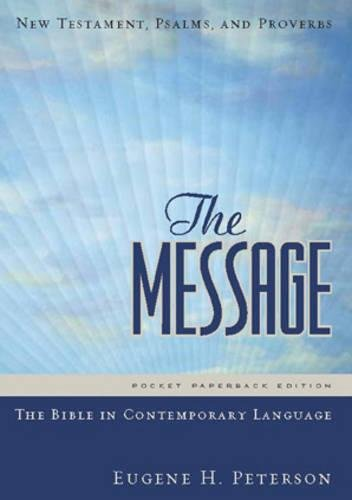 The Message Compact New Testament Paperback: New Testament, Psalms and Proverbs