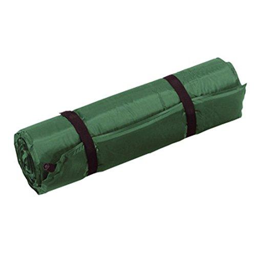 Preisvergleich Produktbild Selbstaufblasende Matratze Camping grün Luftmatratze Campingmatratze Rollmatratze 185 x 54 x 2,5 cm