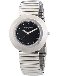 Mike Ellis New York Damen-Armbanduhr XS Analog Quarz Edelstahl L2234ASM/2