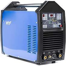 TIG igtb inversor equipo de soldadura NTF AC/DC TIG-210 pulse RF +