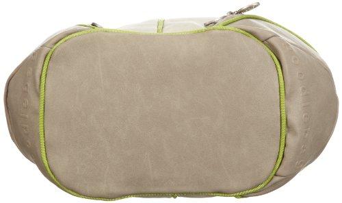 Poodlebags GERMAN COUTURE - Bauhaus chic - Kahla - 3GC0213KAHLG, Borsa a spalla donna, 35x22x15 cm (L x A x P) Verde (Grün (green))