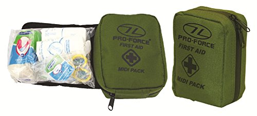 Pro Force Army First Aid Travel Kit Tasche Medic Medical Survival Gürtel Pack Tasche Midi - Medic First Aid