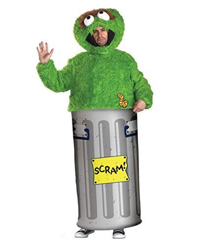 Horror-Shop Sesamstrasse Oscar Kostüm ()