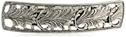 1928 Jewelry Essentials Silver-Tone Bar Hair Barrette