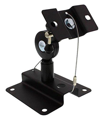 InLine 23126B Lautsprecher Wandhalterung bis 15kg - 2er Set - schwarz